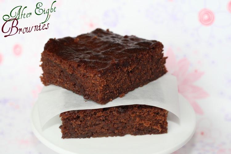 After Eight Brownies Schoko Minze