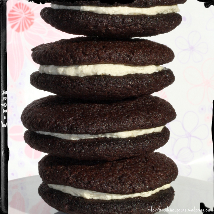 selbstgemachte Oreo Kekse