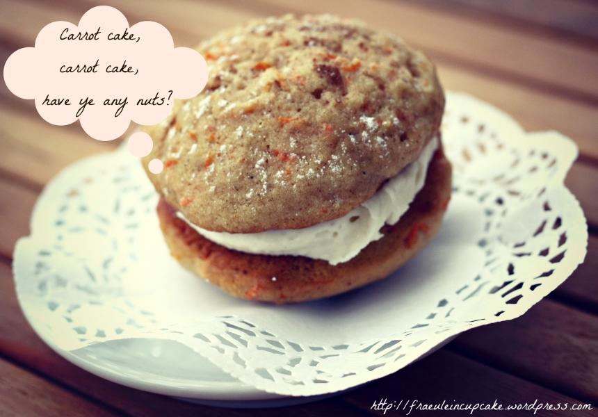 Carrot Cake Whoopie Pies Karottenkuchen