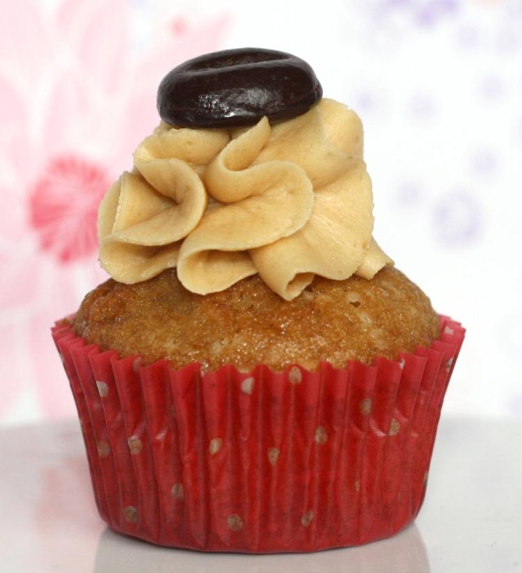 Espresso Mini Cupcakes Buttercreme Kaffee