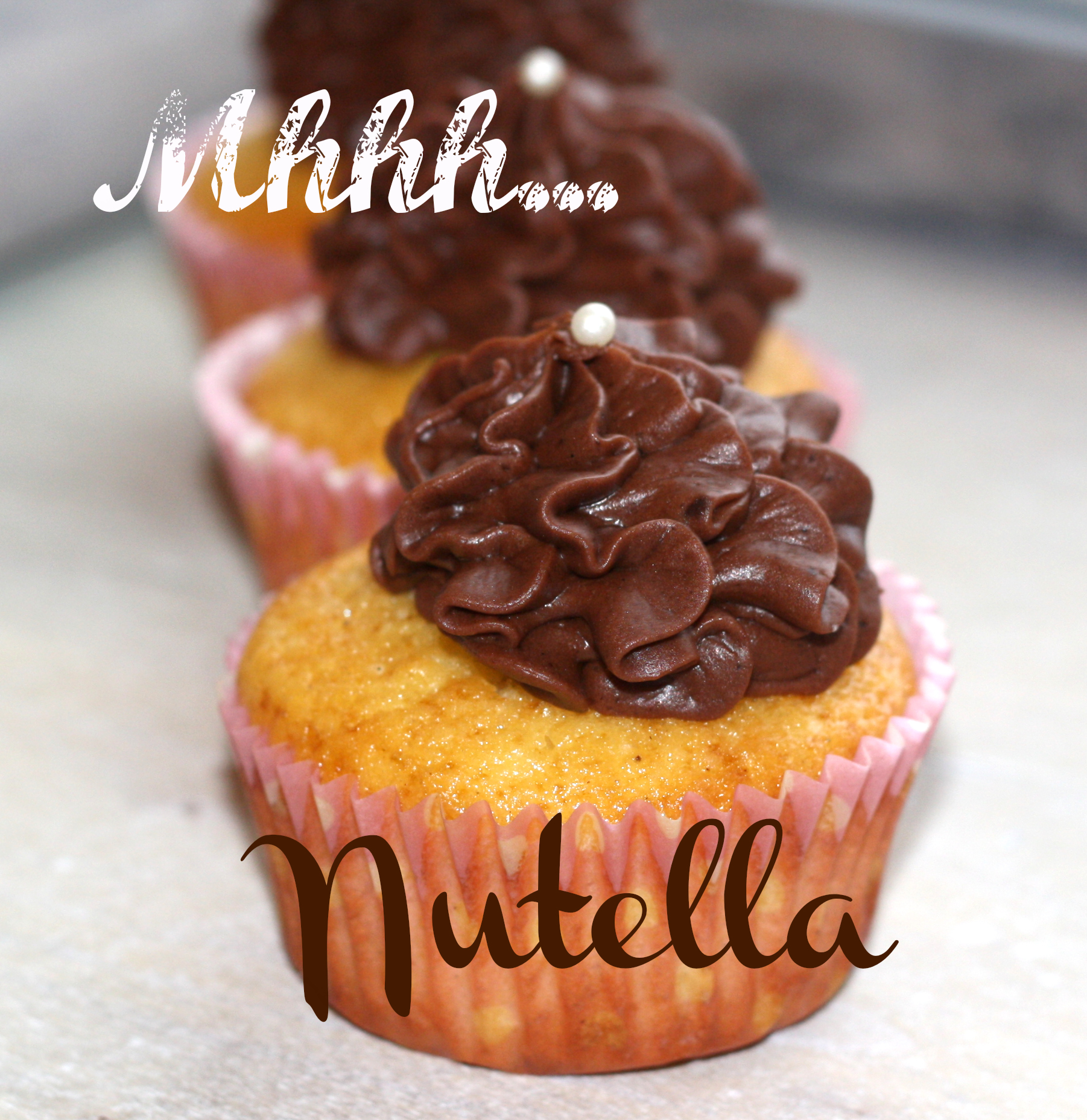 Nutella Cupcakes | Fräulein Cupcake