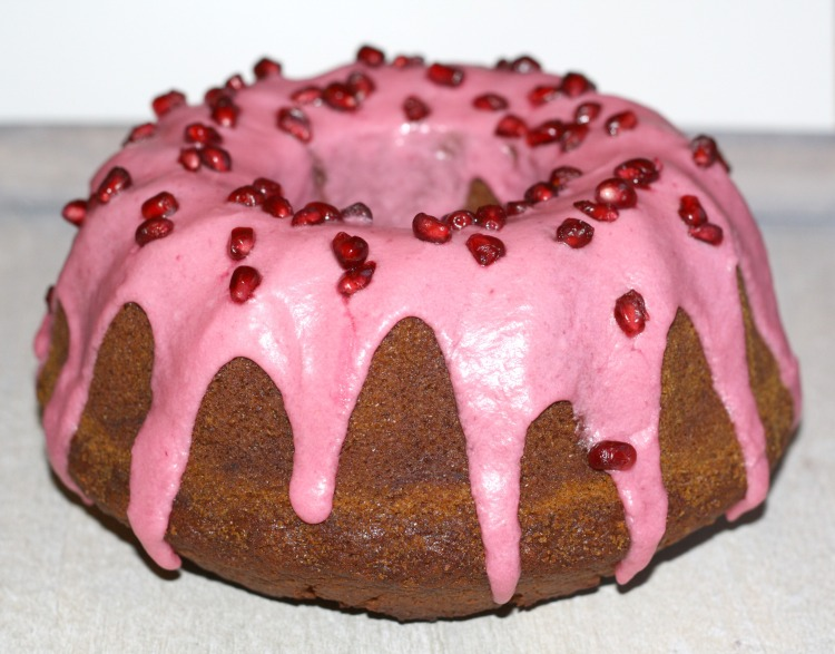 Buttermilch Granatapfel Kuchen Gugelhupf