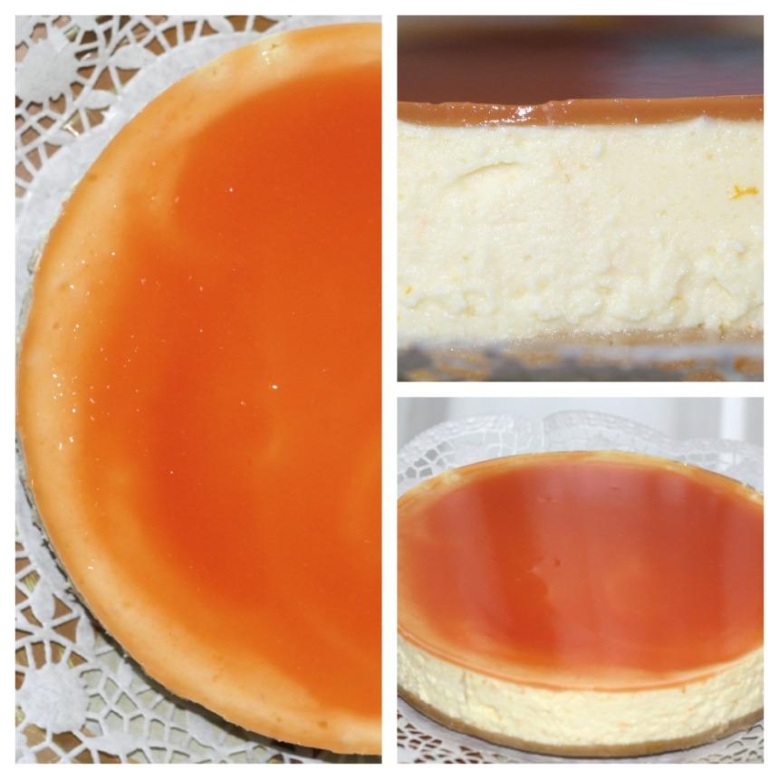 Blutorangen Käsekuchen cheesecake
