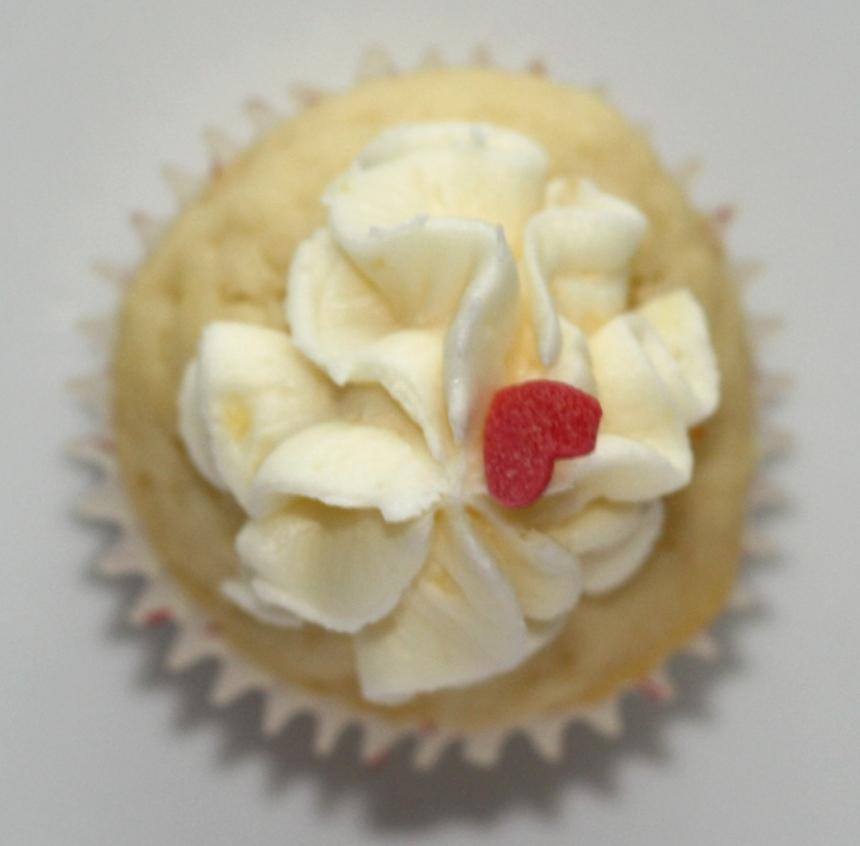 Zitronen Cupcakes Buttercreme