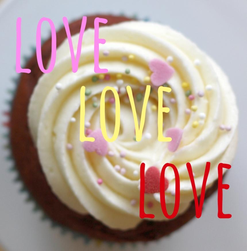 Red Velvet Cupcakes Frischkäse Frosting
