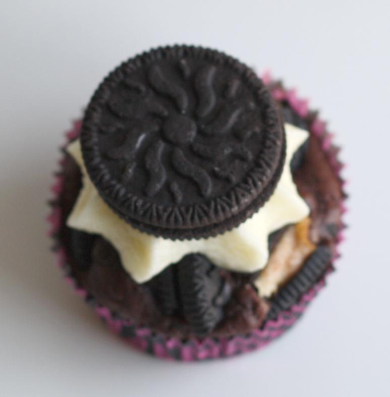 Oreo Cupcakes mit Frischkäse Frosting