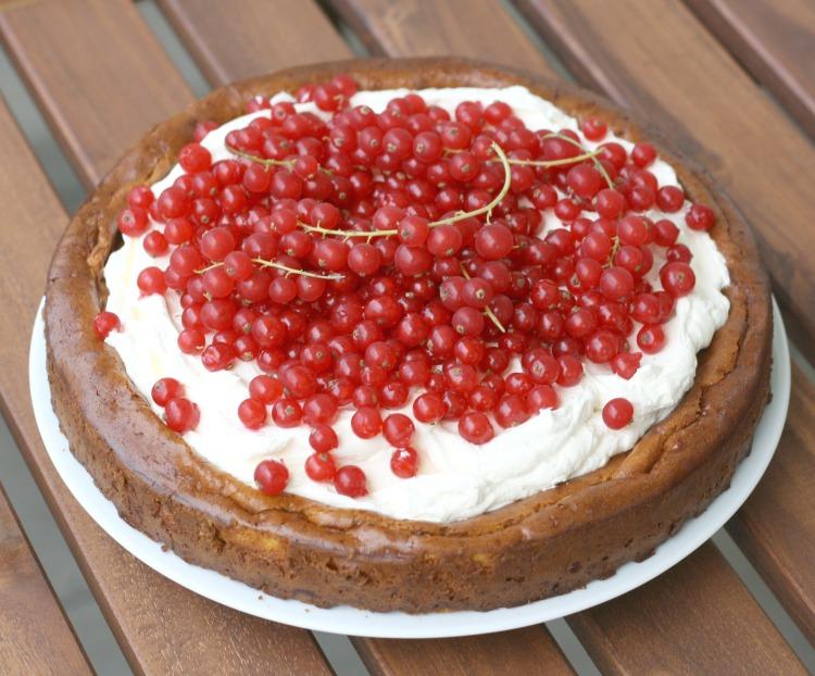 Ribisel Johannisbeer Mascarpone Kuchen