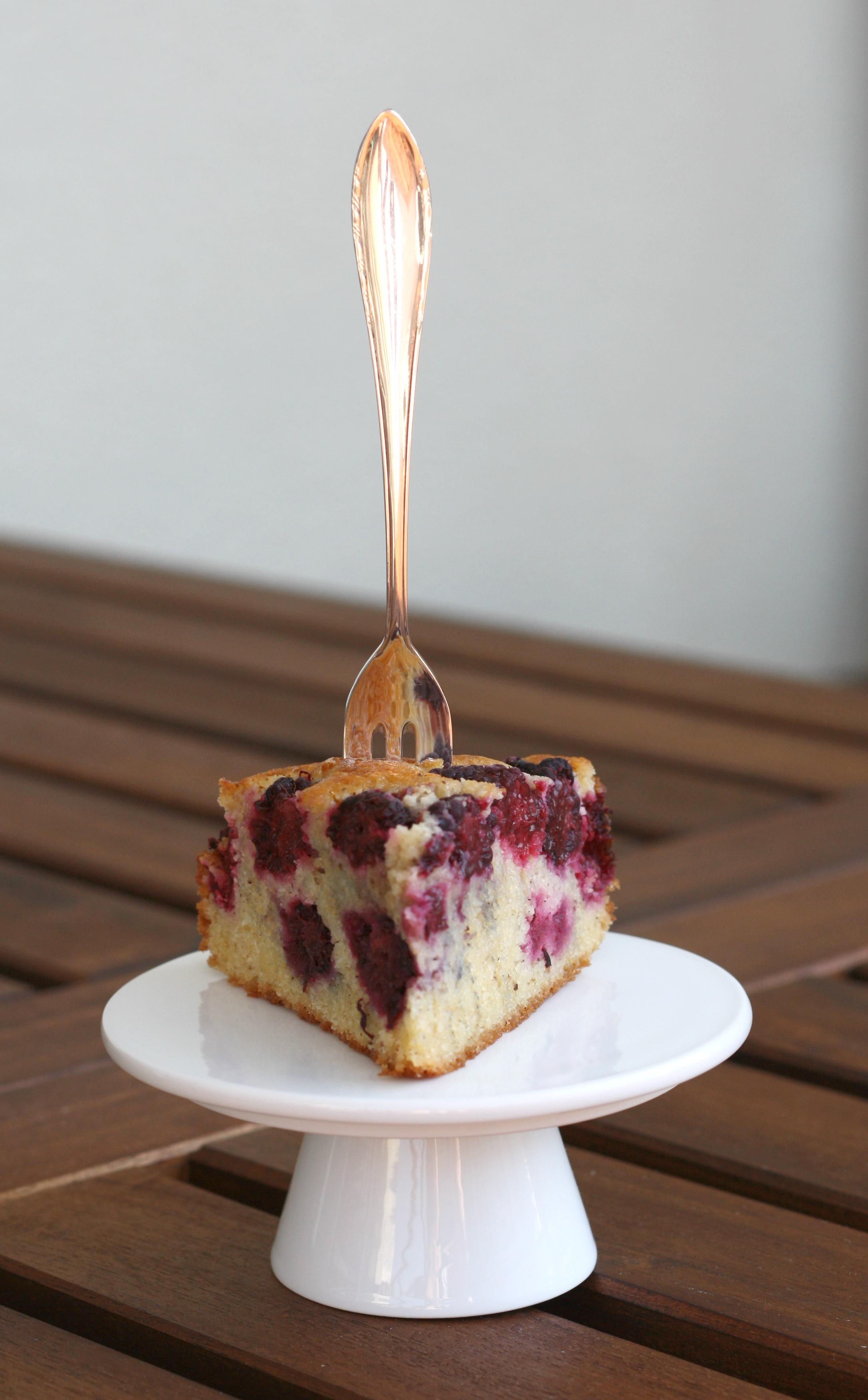 Brombeerkuchen à la Jamie Oliver - Fräulein Cupcake