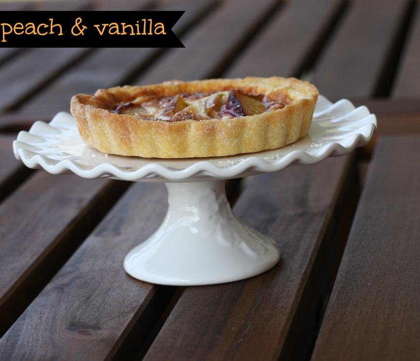 Mini Pfirsich Vanille Quiches