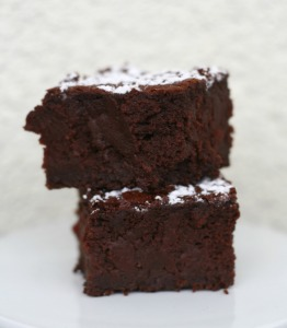 beetroot brownies Brownie Rote Beete Rüben Schokolade