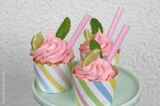 Himbeer Mojito Cupcakes