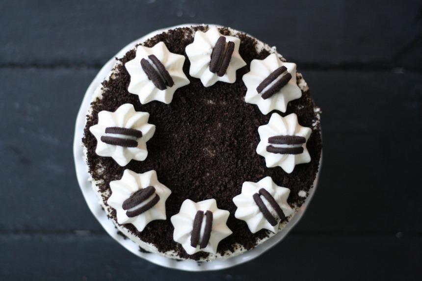 Oreo Cheesecake weiße Schokolade Käsekuchen