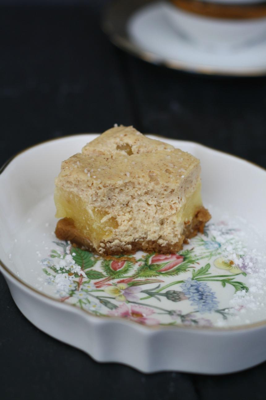 Apfel Zimt Cheesecake Käsekuchen