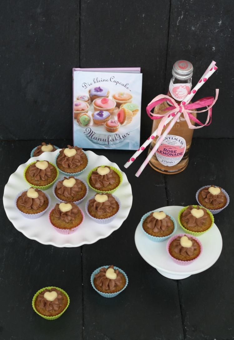 Schoko Bananen Cupcakes