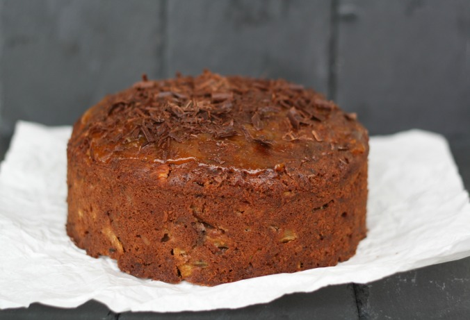 Rum Apple Cake Recipe — Dishmaps