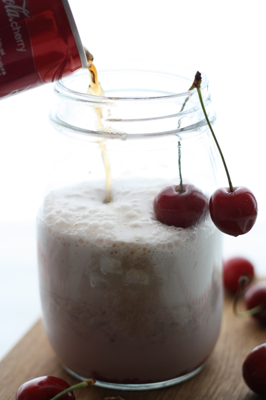 cherry coke float