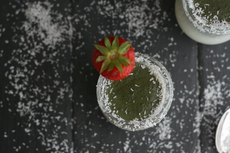 Kokos Matcha Pudding