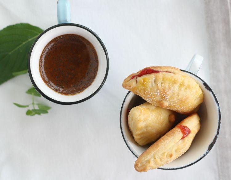 Polsterzipf mit Marmeladefüllung