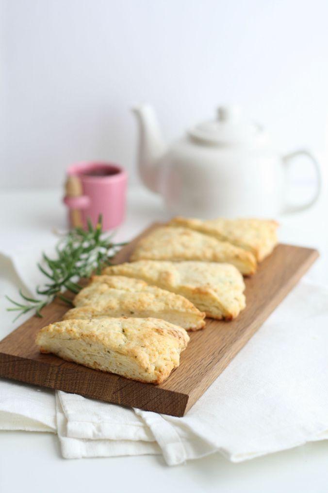 rosemary lemon scones