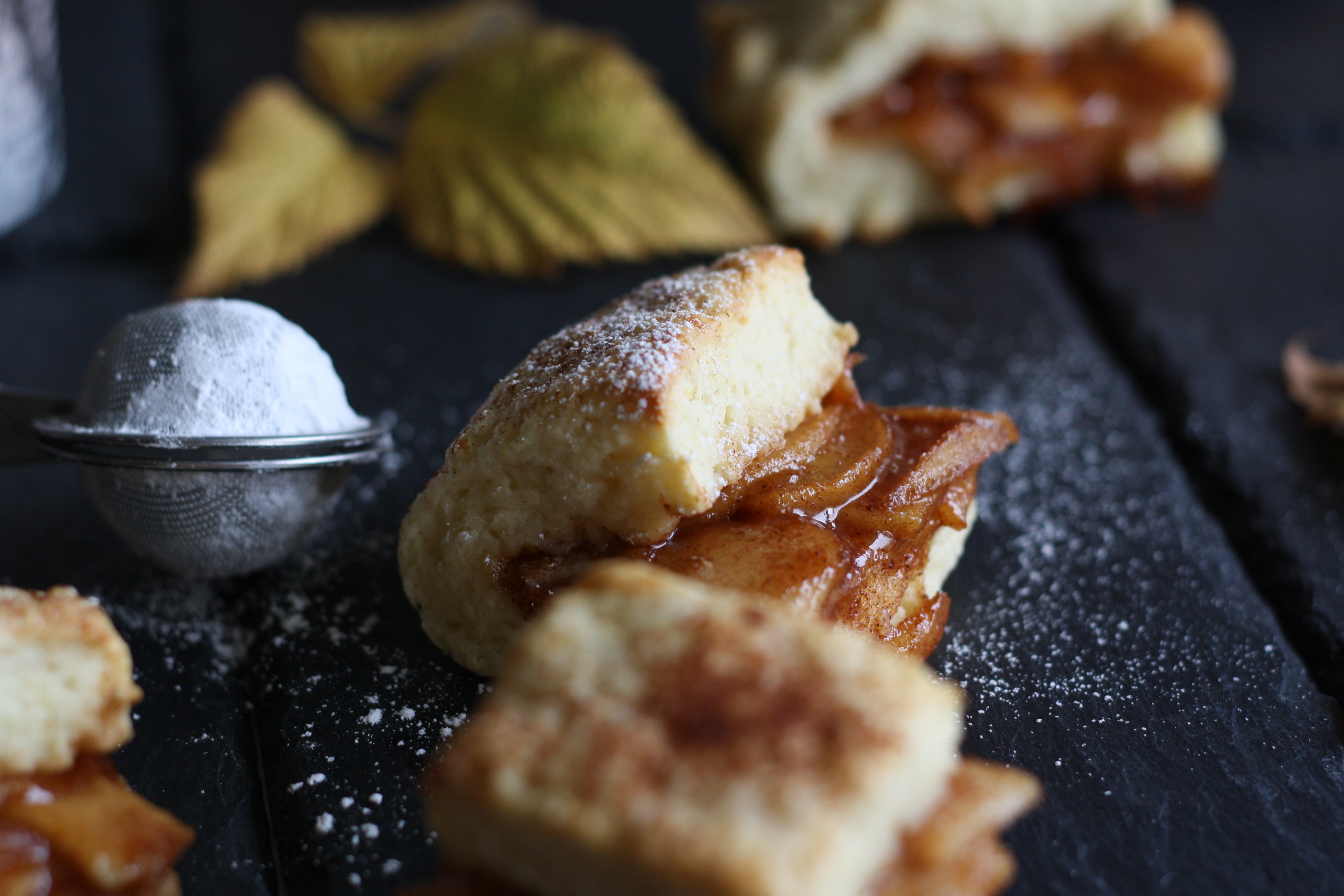 apple pie Scones pumpkin spice latte