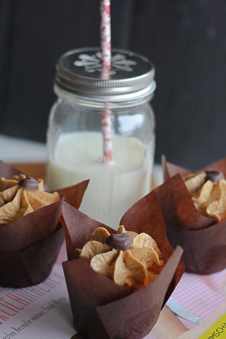 Erdnussbutter-Cupcakes