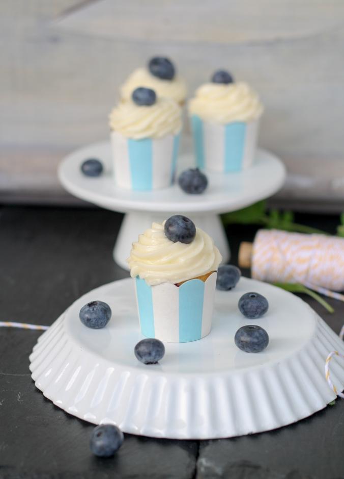 Heidelbeercupcakes
