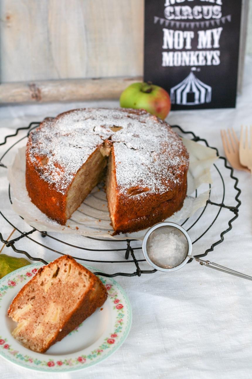 Apfel-Gewürz-Kuchen
