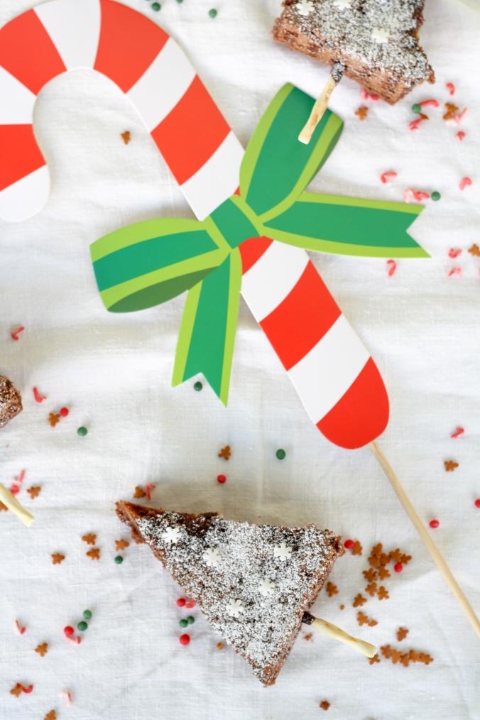 cheesecake-brownie-trees-Bäumchen-Weihnachten-Schokolade-Frischkäse-Kuchen