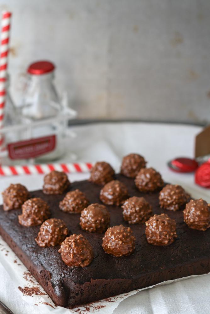 Haselnuss Brownies Ferrero Rocher