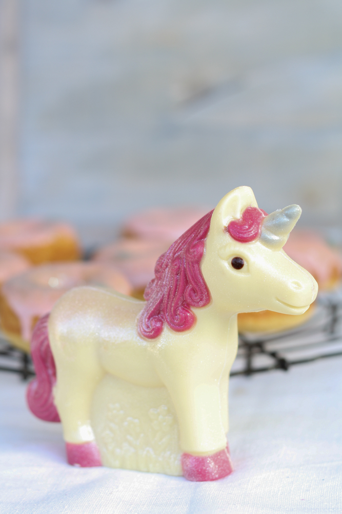 Vanille Donuts Einhorn arko