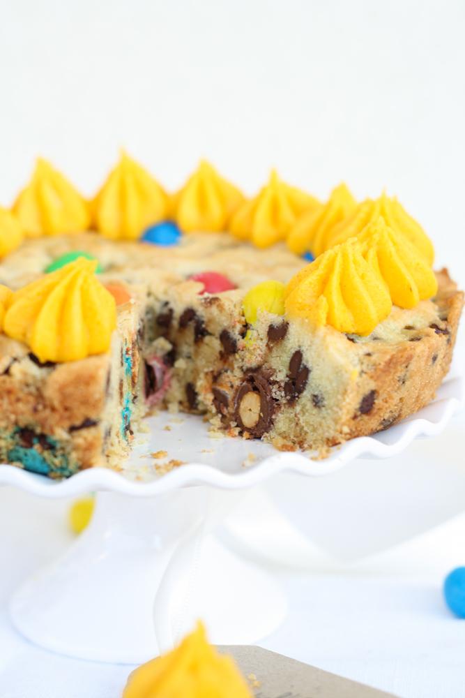 Cookie Torte mit Buttercreme und MMs-13