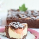 Ein Rhabarberkuchen mit Streuseln, Mascarpone und Kakao!
