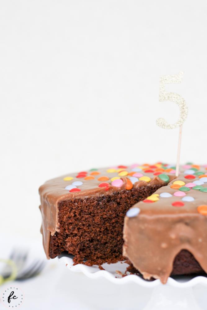 Mars Schokoriegel Torte Smarties