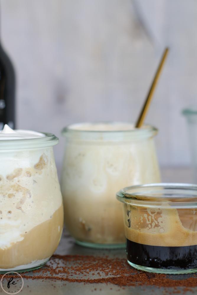 cold brew Kaffee Granita mit Eierlikör und Schlagobers-12