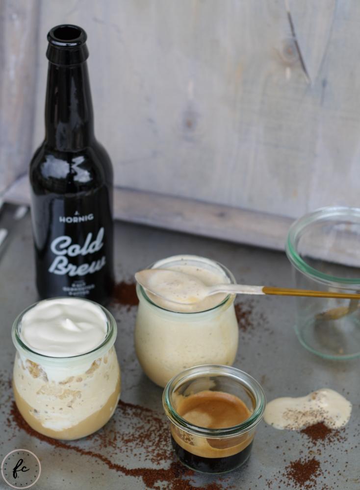 cold brew Kaffee Granita mit Eierlikör und Schlagobers-14