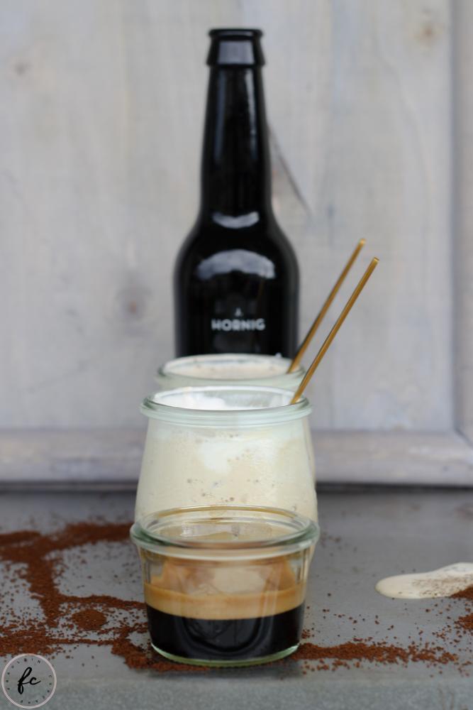 cold brew Kaffee Granita mit Eierlikör und Schlagobers-16