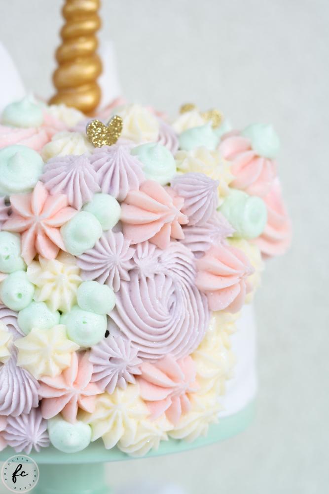 Unicorn Cake Oder Eine Regenbogen Einhorn Torte