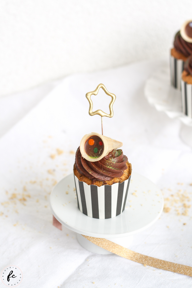 Schoko Haselnuss Cupcakes-10