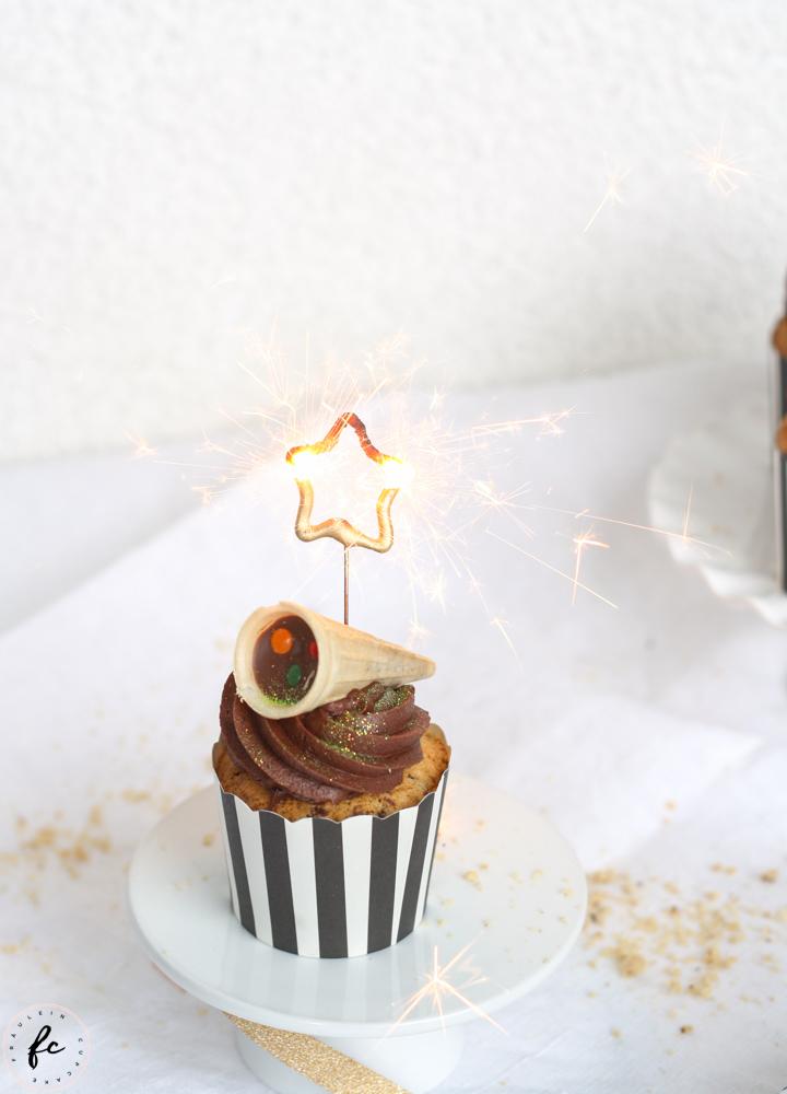 Schoko Haselnuss Cupcakes-4