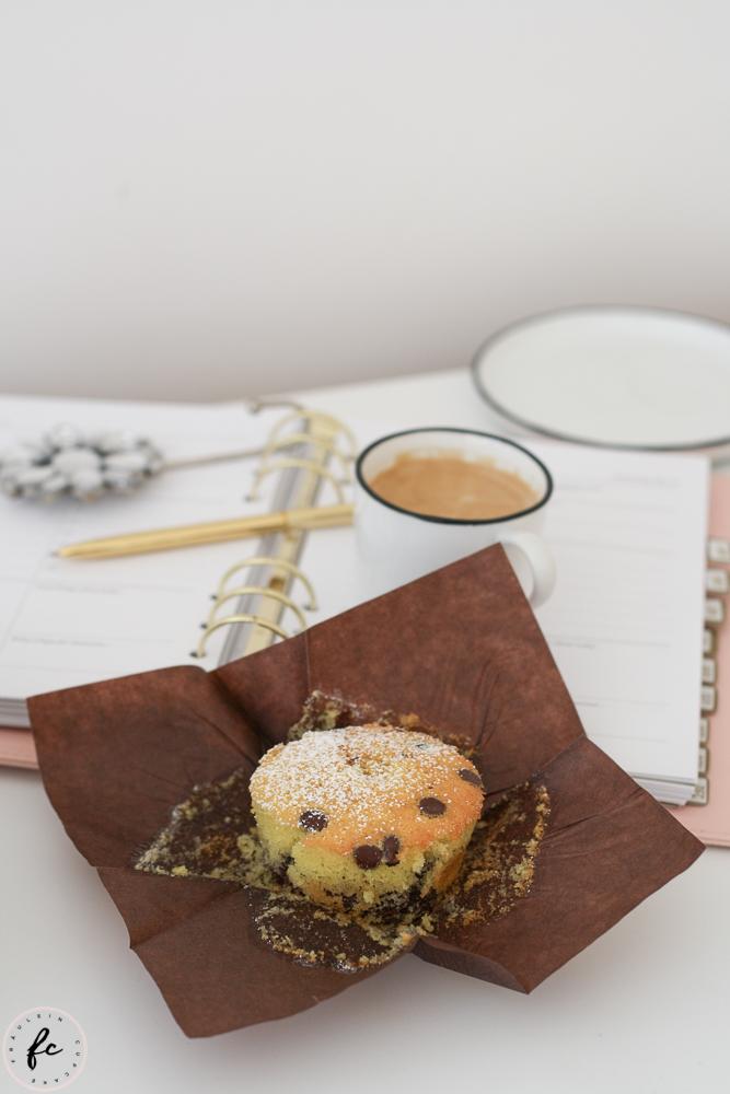 Marmor Muffins mit Schokodrops und Nutella-6