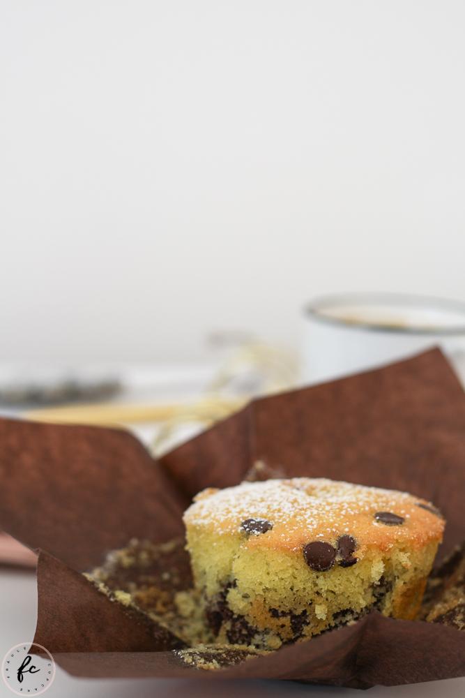 Marmor Muffins mit Schokodrops und Nutella-8