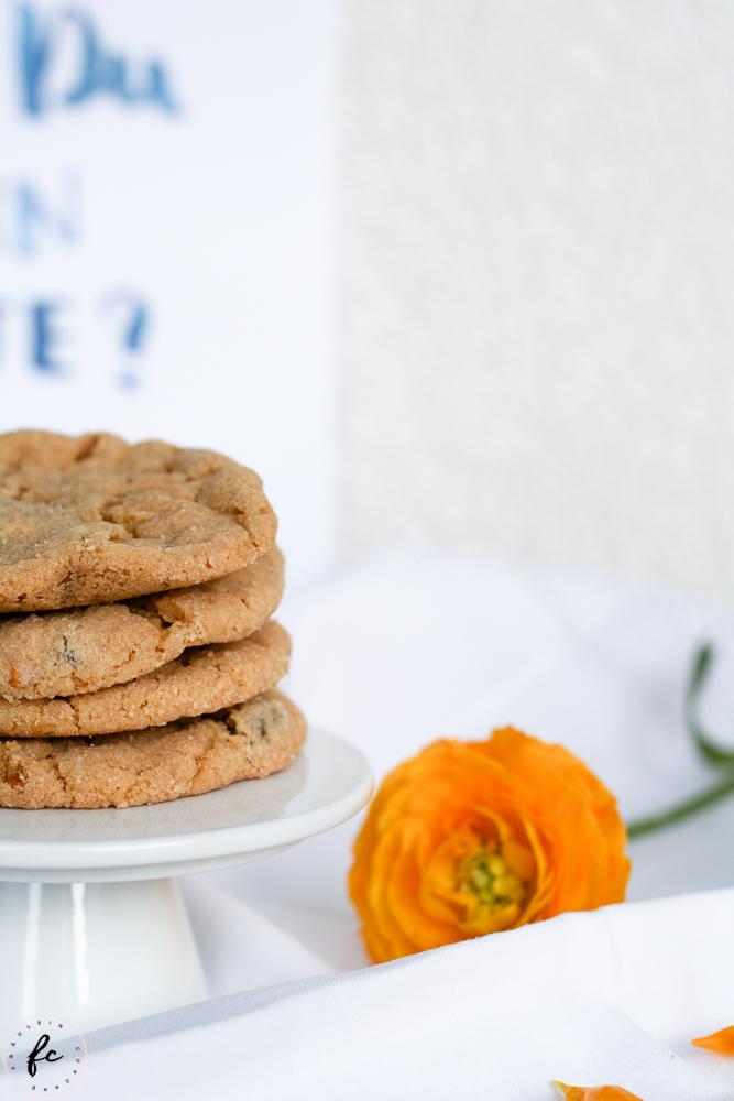 Erdnussbutter Cookies mit Schokostückchen-7