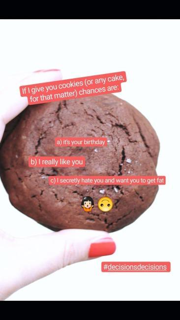 Insta Stories Cookies