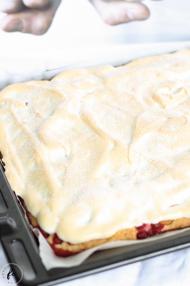 Schladminger Kuchen Marille Ribisel Kuchen mit Baiser